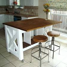Rolling Kitchen Island With Seating Kitchen Island On Wheels With Seating Dynamicpeople Club