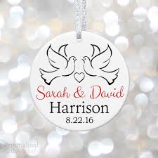 anniversary christmas ornament personalized anniversary christmas ornament personalized gift market