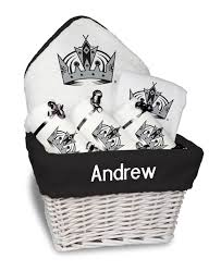 Gift Baskets Los Angeles Personalized Los Angeles Kings Medium Gift Basket Mlb Baby Gift