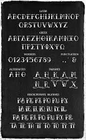 old latin tattoo fonts betty on behance
