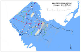 Map Of Jacksonville Fl Savannah And Jacksonville Most Vulnerable To Rising Sea Level On