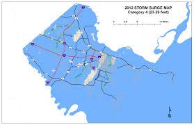 Savannah Ga Map Savannah And Jacksonville Most Vulnerable To Rising Sea Level On