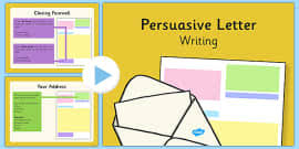 persuasive letter writing powerpoint