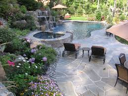 Pool Patio Design Fascinating Swimming Pool Patio Designs For Your Home Decoration