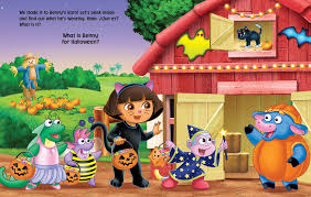 dora the explorer say boo book by nickelodeon dora the