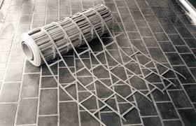 artcrete inc faux brick stencil patterns in decorative concrete