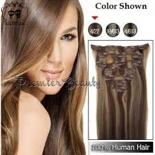 cheap clip in hair extensions 260gram set p4 27 piano color cheap clip in hair extens