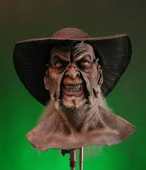 jeepers creepers mask deluxe creeper mask display
