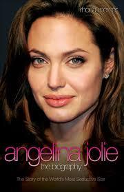 Biography Angelina Jolie Book | angelina jolie the biography by rhona mercer