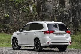 mitsubishi outlander phev 4work collects what van green award for