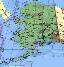 United States Map With Oceans by Alaska Map Ocean