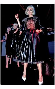 models onstage at mudd club 1980 jazzinphoto
