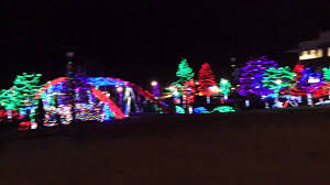 christmas lights in downtown caldwell id youtube