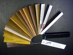 wood finish display samples by technical finishing services