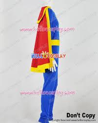 blue jumpsuit costume captain marvel jr junior freddy freeman blue jumpsuit costume