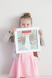 christmas angel kids craft loves glam