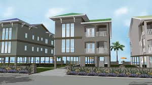 Stilt House Plans 2 Family House Plan On Stilts 62573dj Architectural Designs