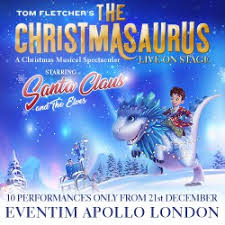 the christmasaurus tickets london box office