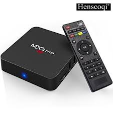 android tv box henscoqi mxq pro 4k android tv box amlogic