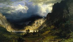 a storm in the rocky mountains mt rosalie wikipedia