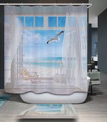 Coastal Shower Curtain by Excellent Beach Shower Curtain Beach Shower Curtain Beach Shower