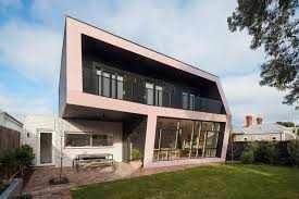 reconfiguration and extension of an edwardian weatherboard house