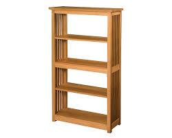 narrow bookcase oak furniture oak book case with mission style bookcase