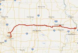Iowa travel and tourism images Lincoln highway heritage byway iowa tourism map travel guide JPG
