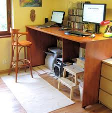 High Chair Desk Ergonomics Stand By Your Computer Your Health May Depend On It