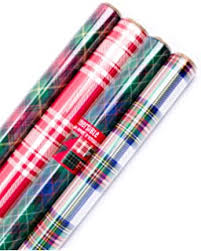 hallmark reversible wrapping paper merry