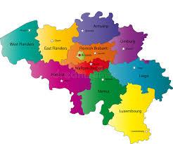 map of belgium map of belgium stock vector image of nationality belgians 6221440