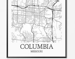 columbia missouri map every road in columbia map printable columbia map print