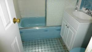 see this 105 year old home u0027s bathroom go from blue to beautiful