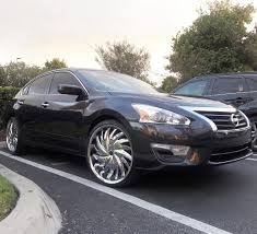nissan altima 2005 on 22s wheels rims custom statuswheels on instagram