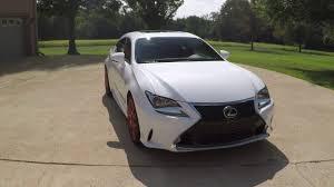 lexus rc sale west tn 2015 lexus rc 350 f sport pkg pearl white navigation used