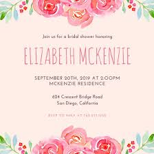 bridal shower invitation customize 136 bridal shower invitation templates online canva
