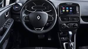 renault interior 2017 renault clio r s unveiled with light facelift performancedrive