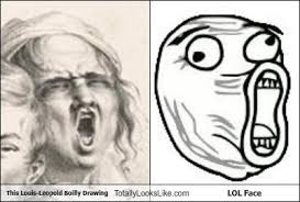 Meme Lol Face - this louis leopold boilly drawing totally looks like lol face