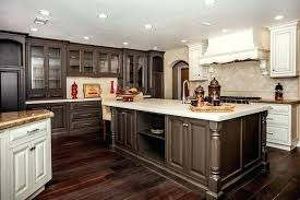 multi color kitchen cabinets multi color kitchen cabinets post and beam kitchen with multi