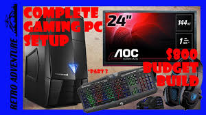 best complete gaming pc setup 800 budget build guide everything