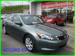 siege honda used 2008 honda accord ex l accord toit cuir siege electrique in