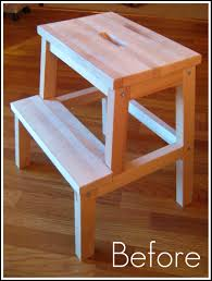 Ikea Stepping Stool June 2011 Crafting Crazy Crafting Crazy