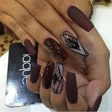 best 10 burgundy matte nails ideas on pinterest burgundy nail