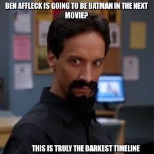 Affleck Batman Meme - 20 of the best reactions memes to ben affleck as batman