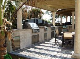 kitchen style beach themed outdoor summer kitchens ideas stone