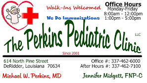 the perkins pediatric clinic home