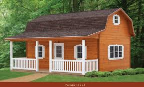 Small Barn Plans Gambrel Roof Shed Cabin A Simple Way To Increase Storage Space