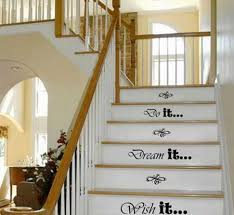 staircase wall decor decor tips adorn staircase using beautiful iron stair railing chic