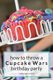 wars birthday party cupcake wars birthday party cuddles chaos