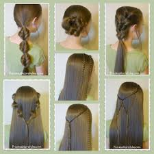 hairstyles for girl video 7 quick easy hairstyles part 2 hairstyles for girls princess